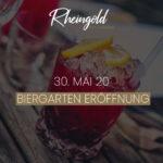 Biergarten Eröffnung im Rheingold